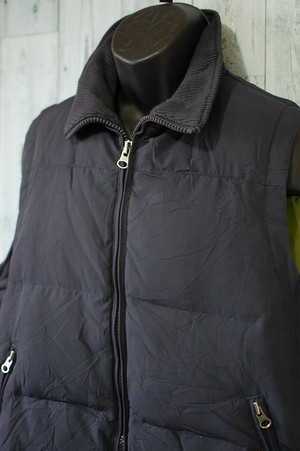 industrial exchange Hooded Down Vest◆M RankB