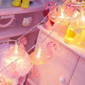 【雑貨】フラミンゴ ライト