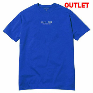 【アウトレット】HOTEL BLUE LOGO S/S TEE ROYAL サイズL