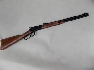 A&K ウィンチェスター M1892 レバーアクション ガスガン ブラック リアルウッド ストック