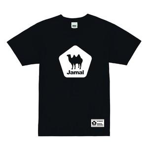 Jamal(ラクダ) ロゴプリントTシャツ Black ブラック