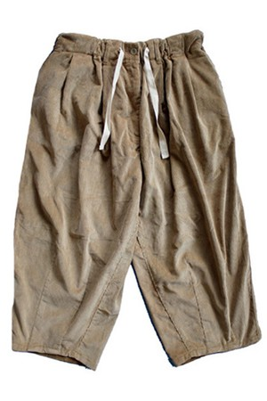 BALLOON CORDUROY EZ PANTS(is-ness)