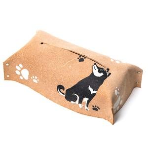 柴犬のボックスティッシュカバー