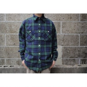 CAMCO (カムコ) DOUBLE FACE HEAVY FLANNEL SHIRT ブラックウォッチ