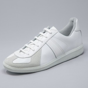 GERMAN TRAINER 1183<WHITE/WHITE>