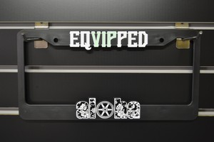 EQVIPPED Hawaii Licence plate frames