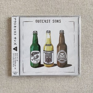 "3WAY SPLIT EP ""OUTCAST SONS"" CD(2017)"