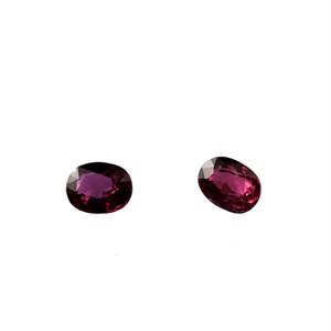天然石 ルースストーン ルビー(ペア) 0.984ct  (2-15)