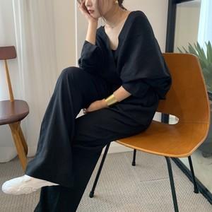Loose blouse set up