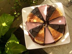 バラエティーケーキ 3種12個(ガトーフショコラ)(NYチーズケーキ)(ロータルトケーキ)