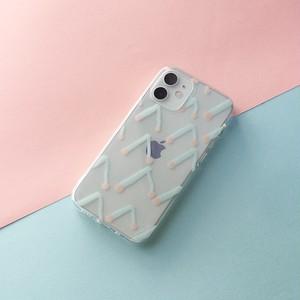 〈受注生産〉チェリークリアiPhoneケース