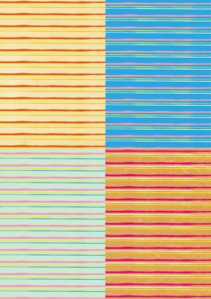 ■リリース記念4種類set A4用紙 057-060【shima-shima】5枚×4種 1500円