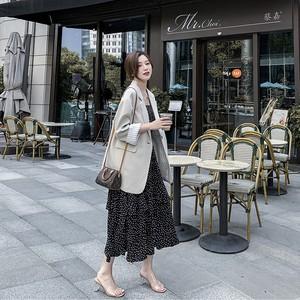 新作 韓国 CHIC 秋 人気 ヨーロピアン風 着やせ スーツ・アウター
