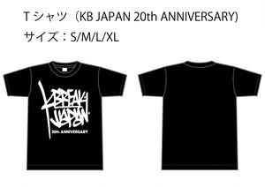 Tシャツ JAPAN 20th ANNIVERSARY
