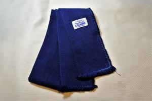 藍染め刺し子織ストール11㎝×160㎝