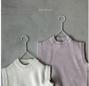 【先行予約】oatmeal  mellow cotton vest