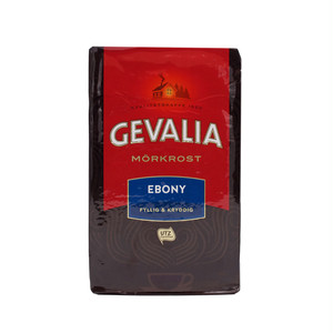 GEVALIA EBONY MÖRKROST 450g(コーヒー粉 ・深煎り)