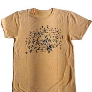 指キラ Tシャツ -Yellow