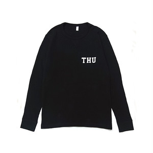 THURSDAY - THU THERMAL L/S TEE (Black)