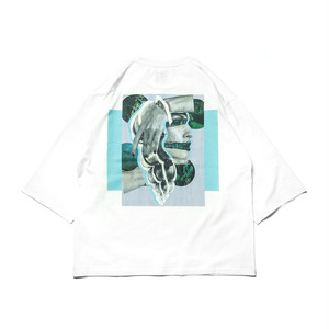 Tightbooth  EMERALD 7 SLEEVE WHITE L