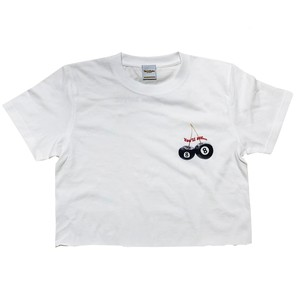 Cherry Eight Ball Cropped Mini Tee