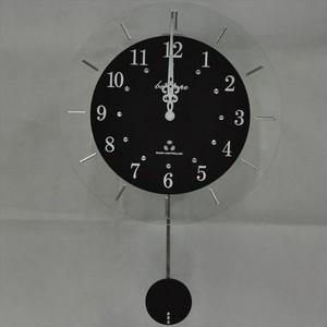 振り子時計 電波時計 電波スロー振り子時計 BIO-001 板尾工芸オリジナル