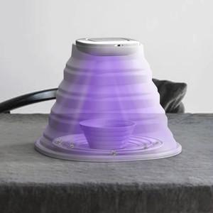 紫外線(UVC)で殺菌・滅菌・ウィルスカット シリコン製折りたたみ除菌機