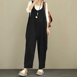 【ボトムス】カジュアル 無地 シンプル 着痩せ 合わせやすい ファッション 森ガールカジュアルパンツ50945155