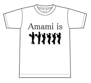 Amami is 八月踊り Tシャツ