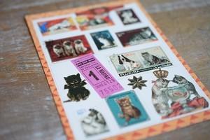 ネコのポストカード3枚セット