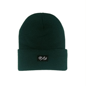 scar /////// BLOOD BEANIE (Dark Green)