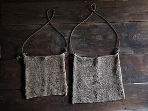 タイ山岳民族による 網バッグ  Mサイズ