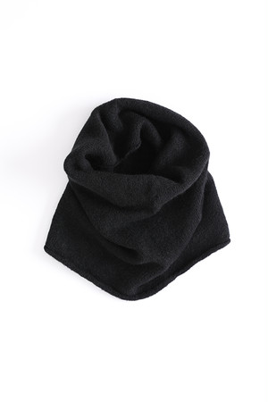 Knit Snood / ISABEL BENENATO / BLACK