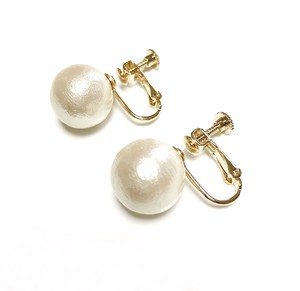 COTTONPEARLEARRING