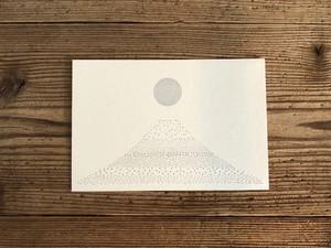 postcard「fuji 銀月」