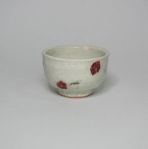 さくらんぼ柄の食器(湯呑)  陶器(信楽焼)製【SO-4828】