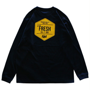 KEEP FRESH LOGO L/S TEE / LIFEdsgn