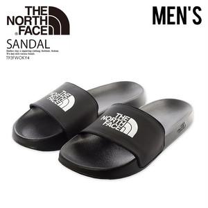 THE NORTH FACE (ザ ノース フェイス) T93FWOKY4 BASE CAMP SLIDE II (ベース キャンプ スライド 2) ヘルシーサンダル 靴 ロゴ TNF BLACK/TNF WHITE ブラック