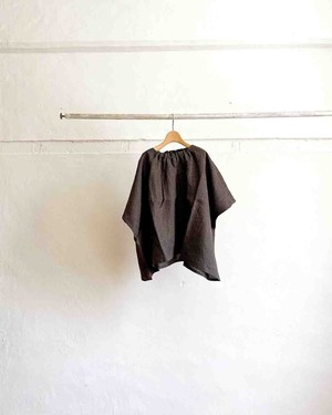 【Honnete】 elastic neck top ②