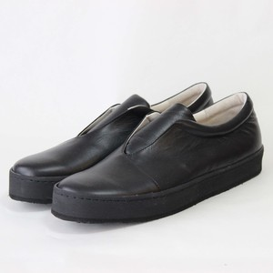 steer leather sneaker/BLK,CAM/l.o.b【受注生産】