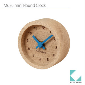 KATOMOKU muku mini round clock km-26青