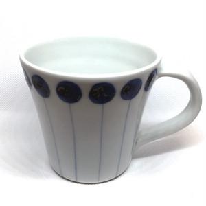 【砥部焼/五松園窯】マグカップ(ヨーヨー)