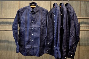 INDIVIDUALIZED SHIRTS ドットBDシャツ