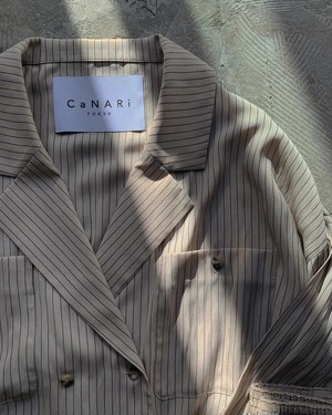 CaNARi 2020aw double breasted shirt