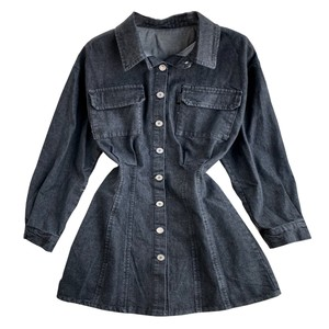 Denim One-piece Jacket