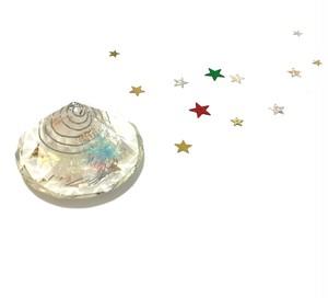 オルゴナイト ダイヤモンド型 (ヒマラヤ産ポイント水晶入り)