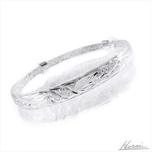 【即納】 Horai バングル フラワー フローラル モチーフ シルバー 結婚式 お呼ばれ