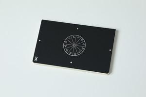 新しい「超」結果手帳《プレミアム版》黒(クロス張り)