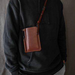SmartPhone Pocket Bag -Full Leather- 本革スマートフォンポケットバッグ
