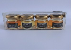 Kawaguchiko蜂蜜4種セット